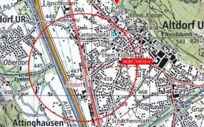 5G Antenne in Altdorf