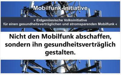 1. Eidg. Initiative – «Gesundheitsverträglicher und stromsparender Mobilfunk»