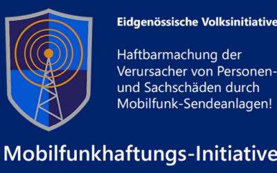 "Eidg. Volksinitiative – ""Mobilfunkhaftung"""