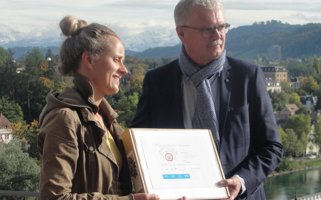 Petition «STOPPT 5G IN DER SCHWEIZ!» mit knapp 40'000 Unterschriften eingereicht