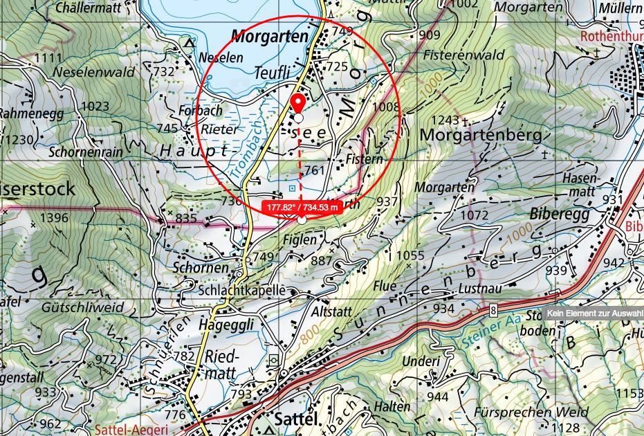 5G Sattel: geplante Antenne in Morgarten strahlt bis Sattel