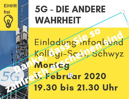 Vortrag: 5G – die andere Warheit