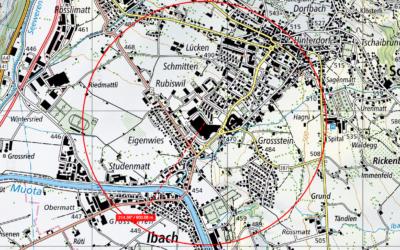 Ibach: 5G Antenne Mythencenterstrasse 18
