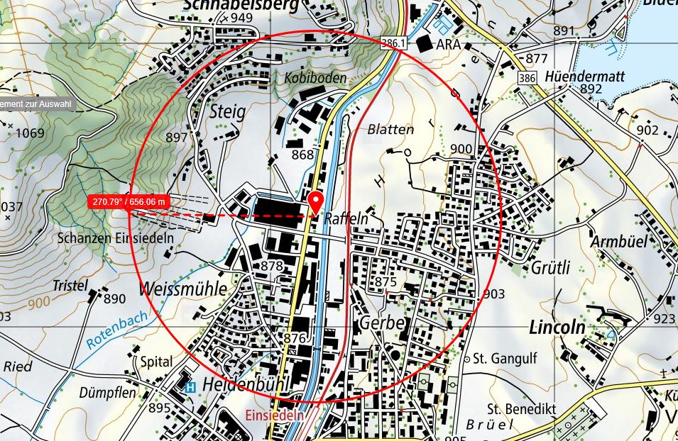 5G Einsiedeln: Zürichstrasse 60