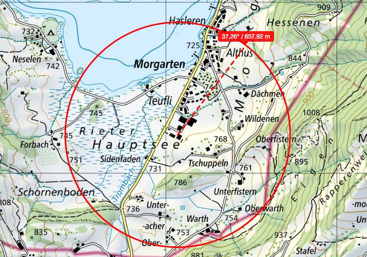 5G Morgarten: Gewerbezone 3a-3d